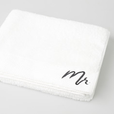 Mr Embroidered Bath Sheet