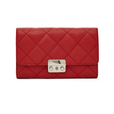 Mighty purse quilted wallet bag with integrated phone charger (in various colours)