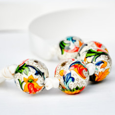 Paper Bracelet/Necklace - Tropical Oasis