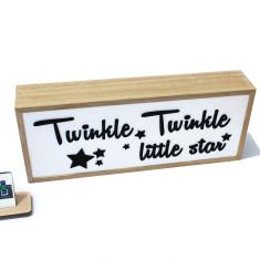 Twinkle star night light