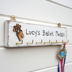 Personalised Ballet Medal Plaque