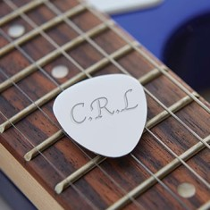 Personalised Guitar Plectrums (Set of 2)