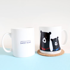 I want to be just like my daddy bear mug