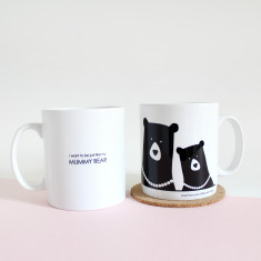 I Want To Be Just Like My Mummy Bear Mug