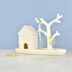 Tiny House - Jewellery Box and Ring Tree
