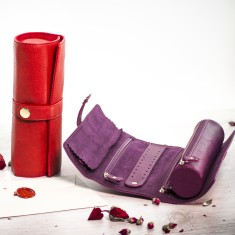 Jewellery Roll (Various Colours)