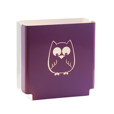 Kids' purple owl night light