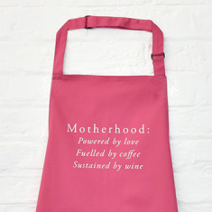 Motherhood mother's day apron