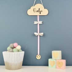 Personalised Hair Bow & Clip Holder