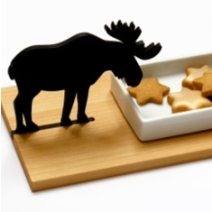 Moose cookie bowl