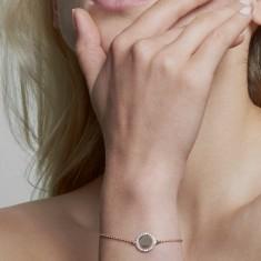 Luna bracelet 18k rose gold vermeil