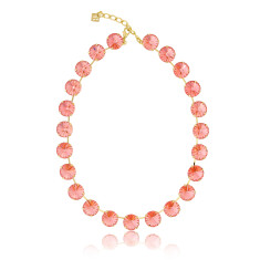 Medium necklet with Swarovski crystals