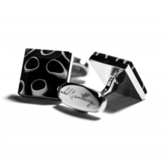 Eclissi Murano glass cufflinks