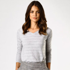 Iris v neck sweater (various colours)
