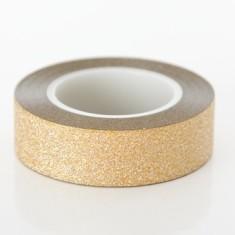 Gold glitter tape (2 pack)
