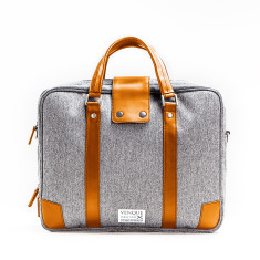 Venque - Hamptons Grey Briefcase
