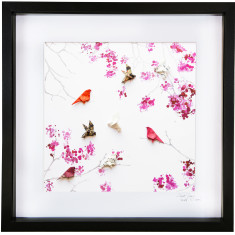 Cherry Blossom framed art work