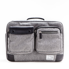 Venque - Briefpack XL in Grey