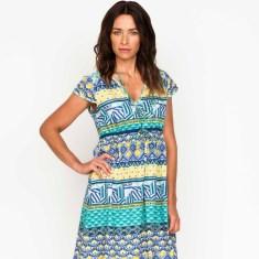 Ally Summer Panel Dress