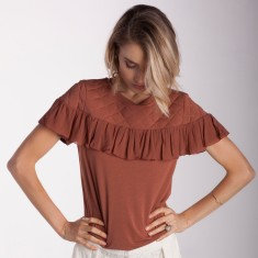 Pretty Woman Ruffle Top