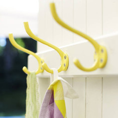Wall hooks in various colours (set of 3)