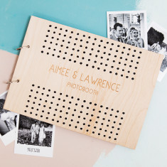 Personalised Polka Dot Photo Album