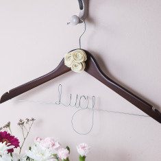 Personalised Bridesmaid Hanger