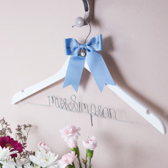 Something Old, Something New… Wedding Hanger