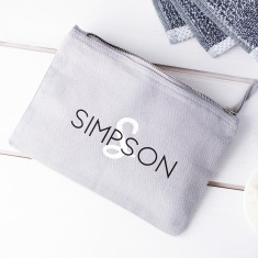 Men's Personalised Wash Bag