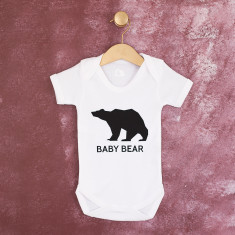 Baby Bear Christmas Baby Grow