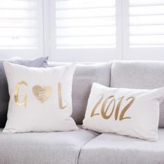 Personalised Wedding Date Cushion Set