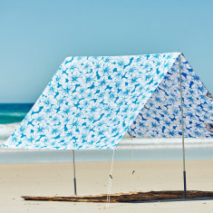 Byron Bay beach shade in the aloha print