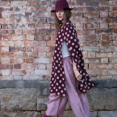 Hilary Cape in Merlot Spot