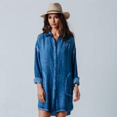Mediterranean shirt dress