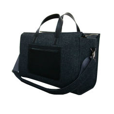 Travel felt bag, weekender, luggage, overnight bag, messenger bag