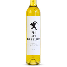 You are dazzling 23 carat gold oil (with cupid)