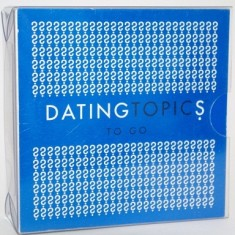 Dating Topics To Go