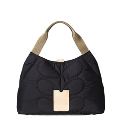 etc by Orla Kiely shoulder bag in quilted stem