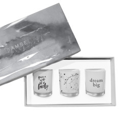 Dream Big - Trio Candle Set