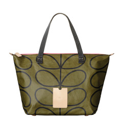 etc by Orla Kiely big zip shopper