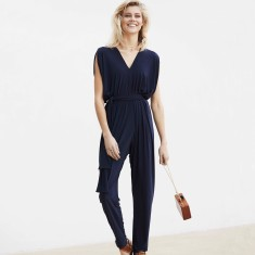 Solange loose fit jumpsuit in navy