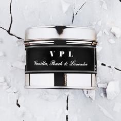 Filthy Velvet VPL - vanilla, peach & lavender scented candle