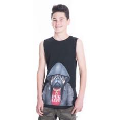 Pug Lyfe Teen Tank