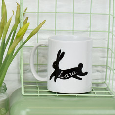 Easter personalised bunny mug