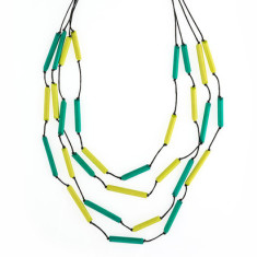 South Pacific tubular necklace (in various colours)
