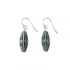 Byzan Turquoise Earrings
