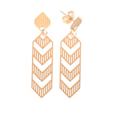 Gold deco studs