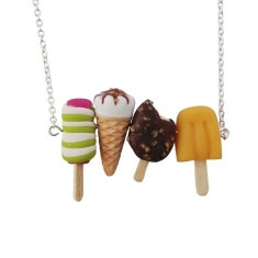 Ice cream selection necklace