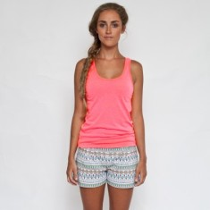 Organic tribal vibe shorts