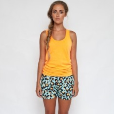 Into the wild organic cotton shorts